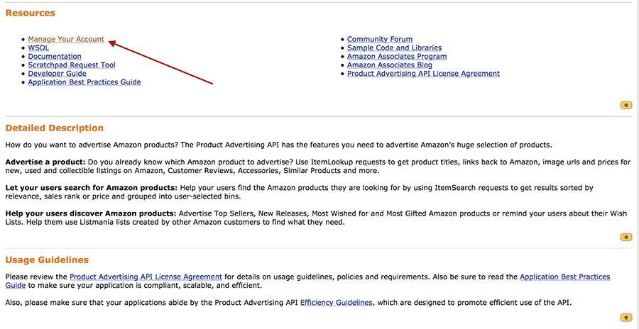How to Find Your Amazon Affiliate Key & Secret Key - Fresh ...
